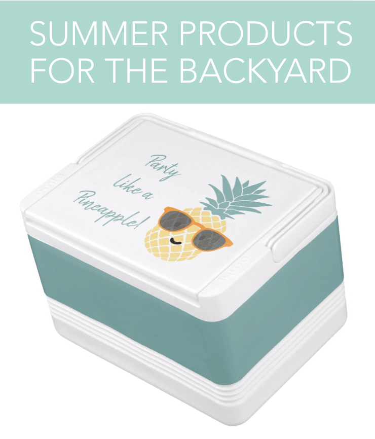 Personalized cooler for summer time