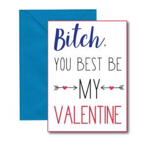 Best Friend Valentine's Card