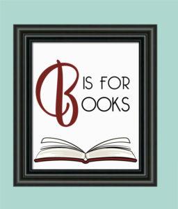 B is for Books Nursery Decor