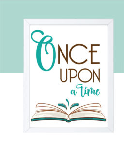 Once Upon A Time Nursery Wall Decor