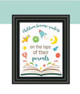 Readers Quote Nursery Decor