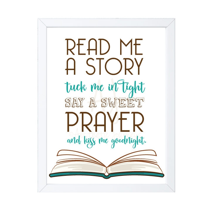 Read Me a Story Nursery Decor