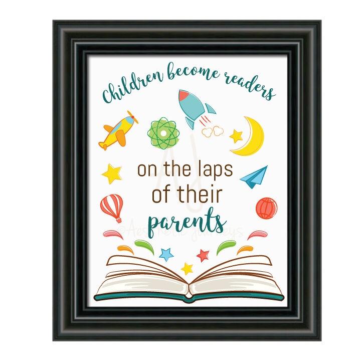 Book Quote Nursery Decor