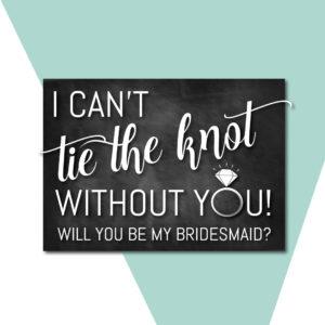 Digital Bridesmaid Asks