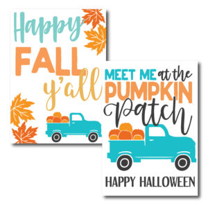 Country Themed Cards for Fall