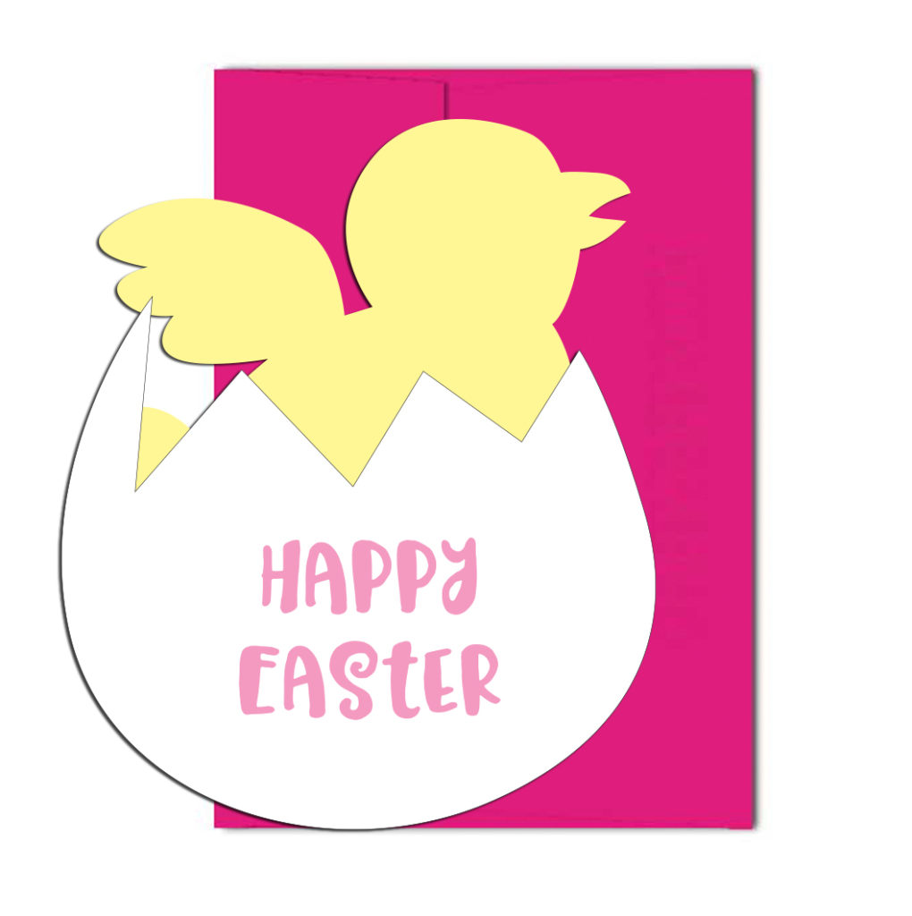 Happy Easter Chick Cards