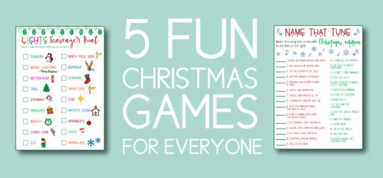 5 Fun Christmas Games for Everyone
