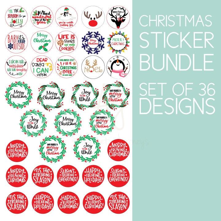 Christmas.Sticker.Bundle