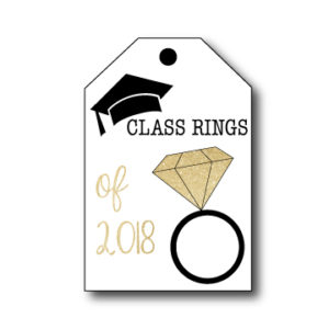 Class of 2018 Graduation Tags