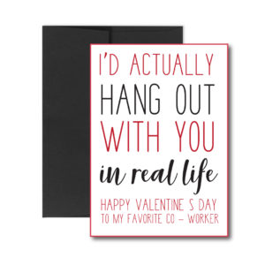 valentine's card for co-worker