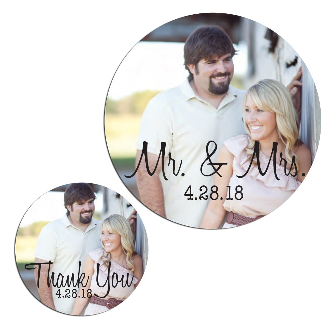 Wedding Photo Stickers