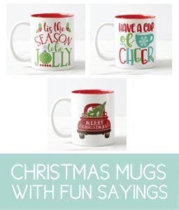 Fun Christmas Mugs for the Holidays
