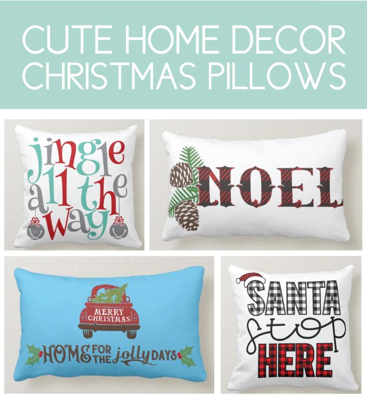 Cozy Christmas Pillows
