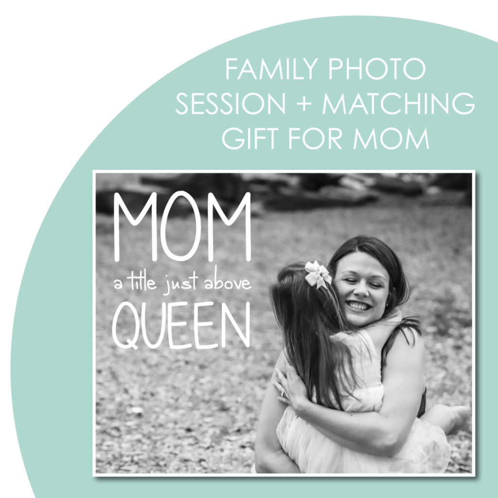 Schedule a family photo shoot and receive a special gift for mom.