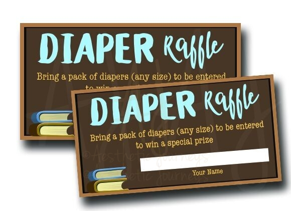 Book Diaper Raffle