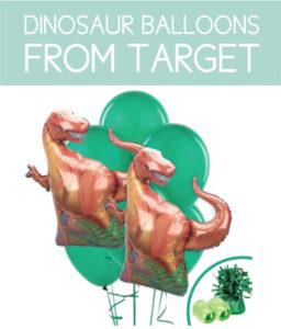 Dinosaur Balloons from Target