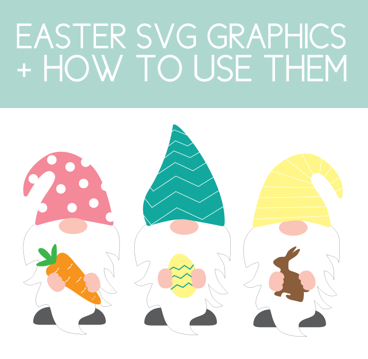 How to use Easter SVG Files