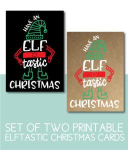 Elftastic Christmas Cards