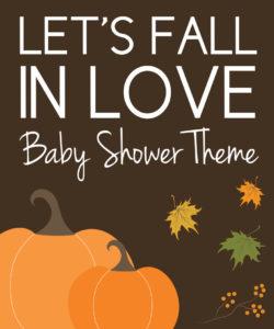 Fall Baby Shower Ideas