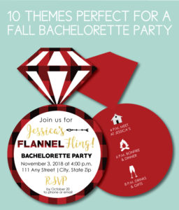 Fall Bachelorette Themes