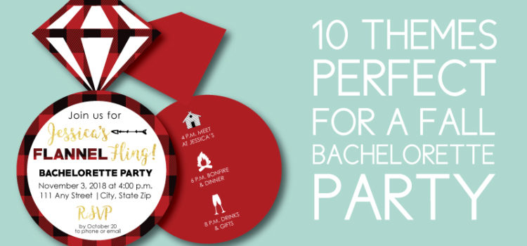 10 Fall Bachelorette Party Themes
