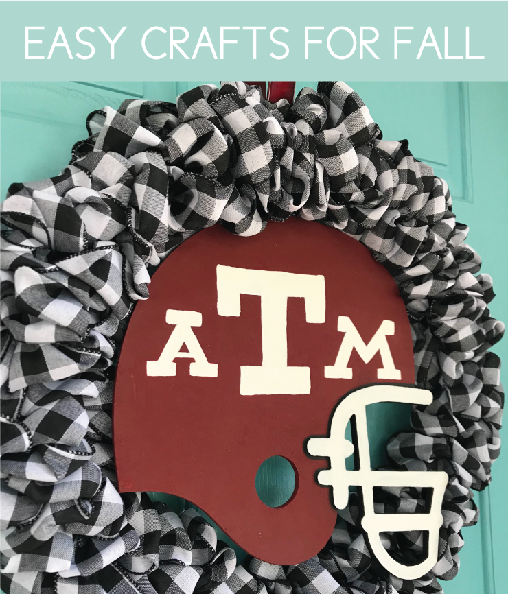 Easy Fall Crafts with Football Theme