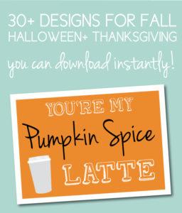 Fall Themed Printables