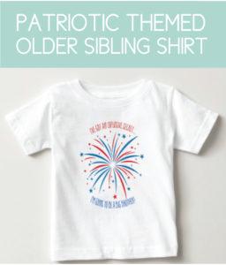 Patriotic Shirt for the Sibling