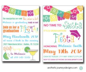 Fiesta Graduation Invite