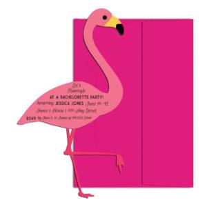 Let's Flamingle Bachelorette InviteLet's Flamingle Bachelorette Invite