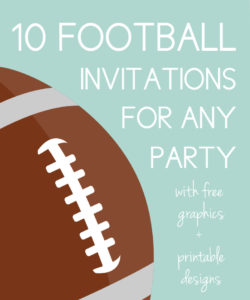 Football Invites