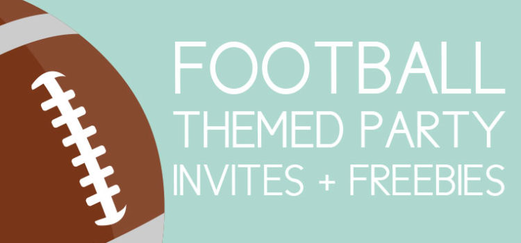 Football Party Invites