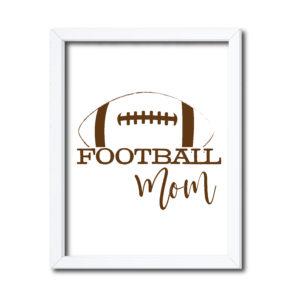 Football Mom Sign