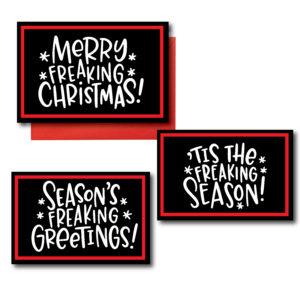 Printed Funny Christmas Cards