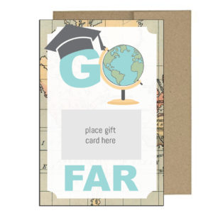 Graduation Gift Card Holder