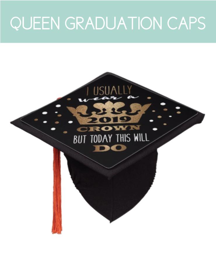 Queen Graduation Cap