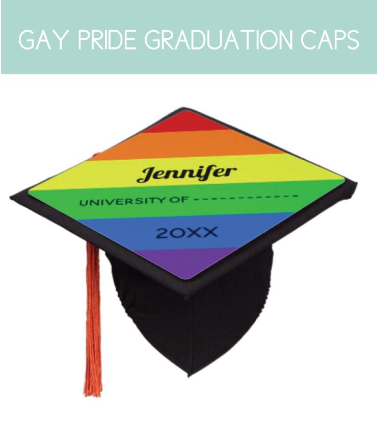 Graduation Cap for Gay Pride
