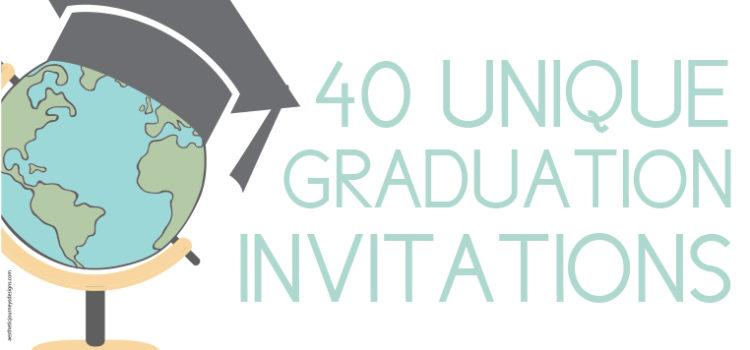 Unique Graduation Invites