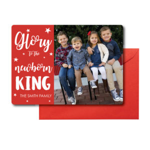 Religious Photo Christmas Card