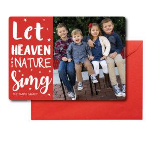 Photo Religious Christmas Card