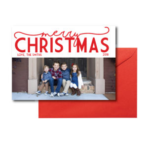 Simple Photo Christmas Card