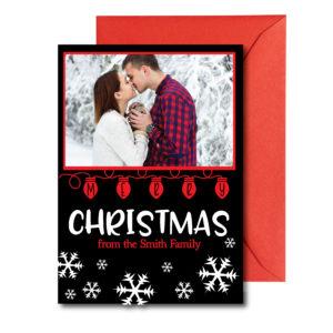 Personal Photo Christmas Card