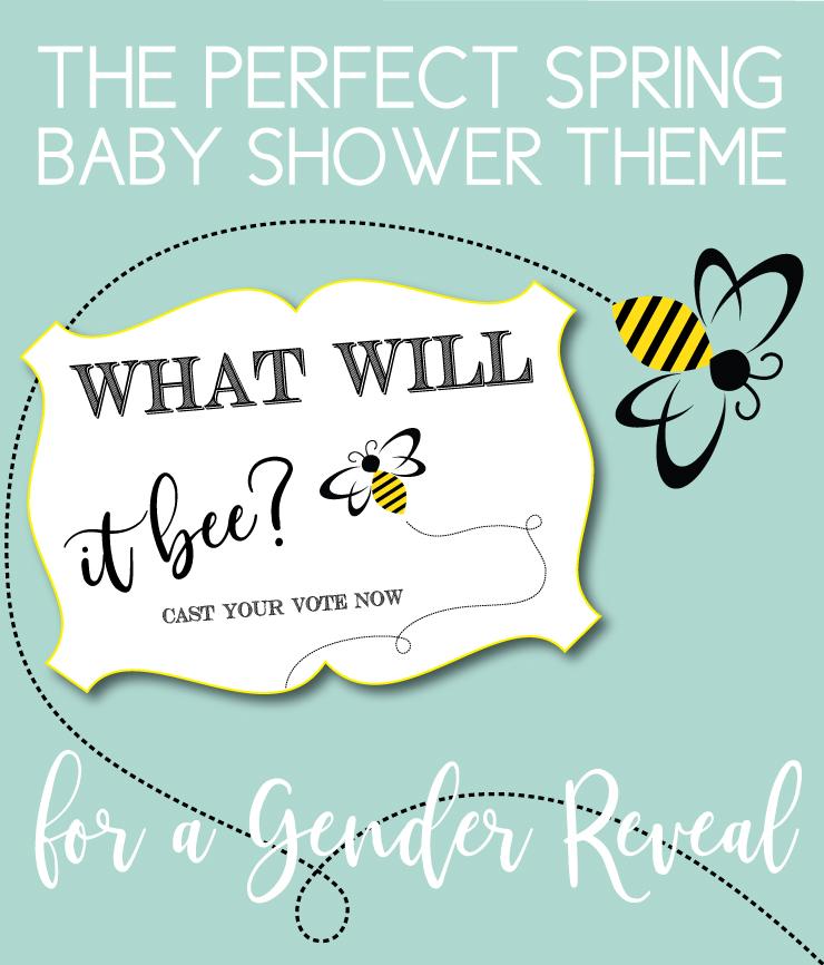 Honey Bee Gender Reveal Theme