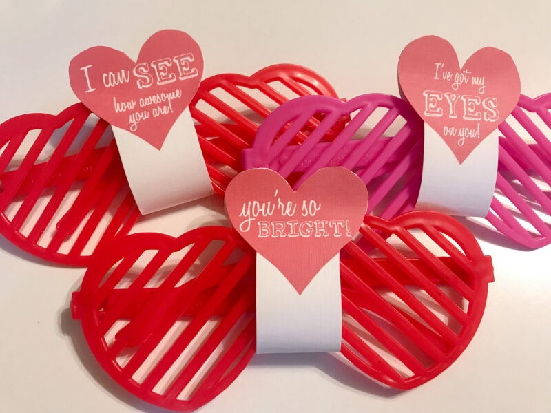 valentine's cards for sunglasses