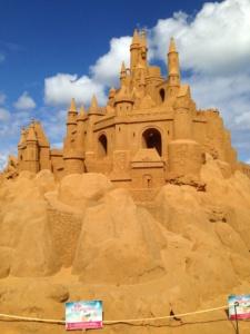 Sand Sculpture in Frankston, VIC