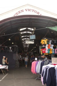 Budget shopping at the Queen Vic Market