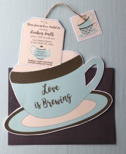 Non-traditional bridal showers: tea party