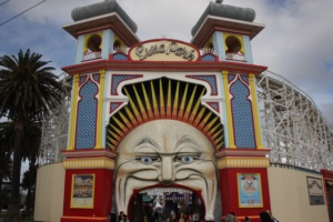 Luna Park, amusement park in St. Kilda