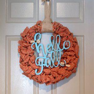 Fall Themed Wreath