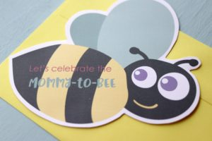 Mommy-to-Bee Invite